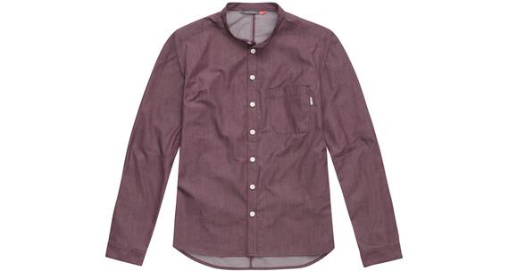 Haglöfs W's Edda LS Shirt AUBERGINE DENIM